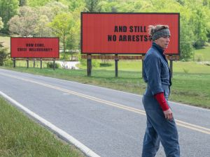 Frances McDormand in 'Three Billboards Outside Ebbing, Missouri.'