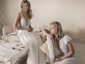 Lace dresses by designer Lihi Hod