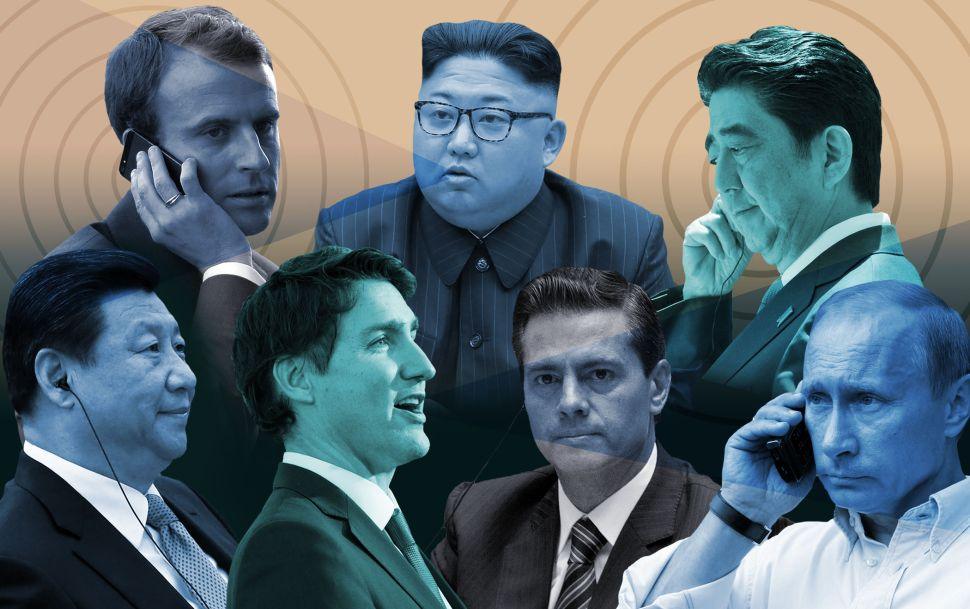 How Foreign Leaders Plot to Save the World From Trump