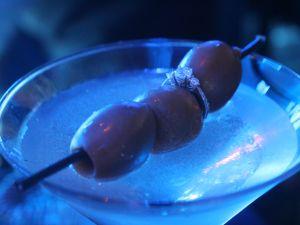 The Algonquin's Martini comes adorned with diamonds.