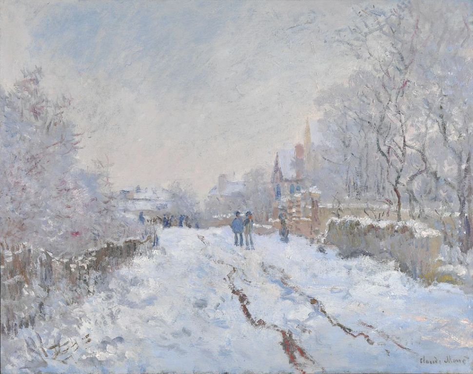 10 Snowscapes through Art History to Get You in the Seasonal Spirit