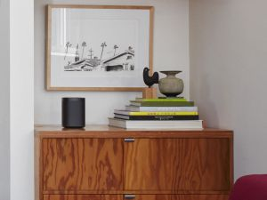 The Sonos One has great audio, but you may have to shout to get its attention.