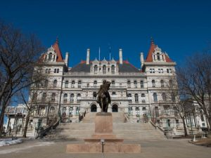 New York State Capitol in Albany.