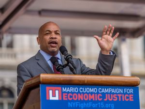 New York State Assembly Speaker Carl Heastie.