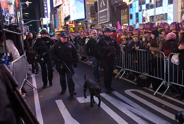 NYC Will See 'Stronger Police Presence' on New Year's Eve, NYPD Says