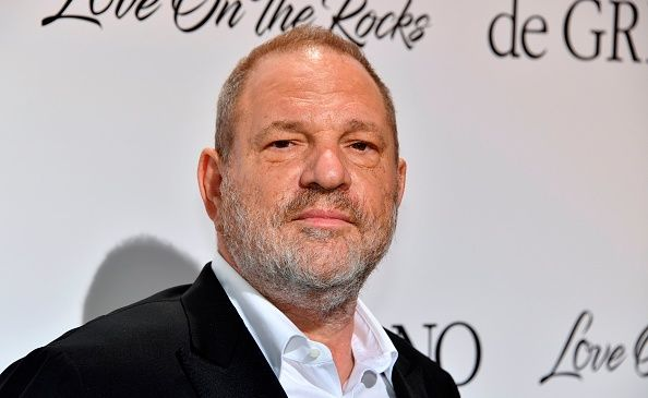 Hollywood executive Harvey Weinstein at the 70th Cannes Film Festival.