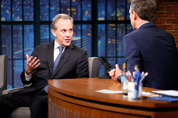 NY Attorney General Eric Schneiderman Took 100 Actions Against Trump, GOP