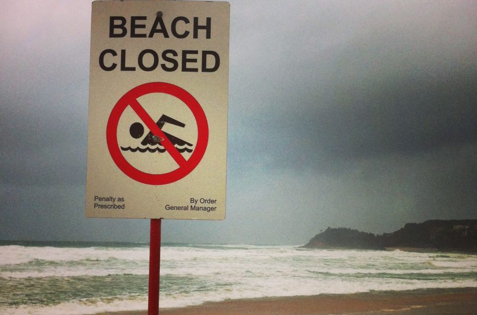 Year in Review: Shutdown at the Beach