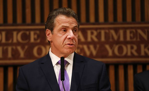Gov. Andrew Cuomo speaks during a news conference concerning a terror attack at the end of October. (Photo by Spencer Platt/Getty Images)