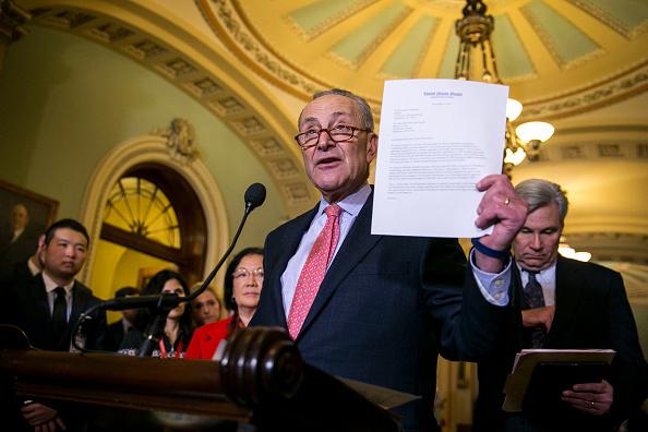 Schumer: Delay Vote on GOP Tax Plan Until Doug Jones Arrives