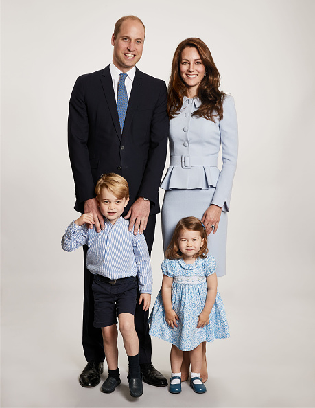 The Duke and Duchess of Cambridge Released Their Annual Family Photo
