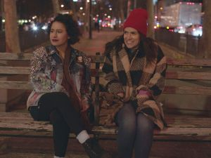 Ilana Glazer and Abbi Jacobson on Broad City.