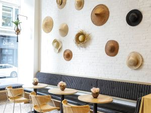 The interior of Broken Coconut at 15 E. 4th Street in the East Village