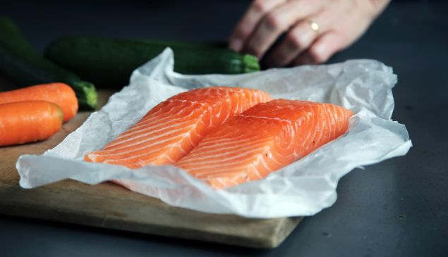 Salmon is among the foods that can help ease the suffering from rheumatoid arthritis.