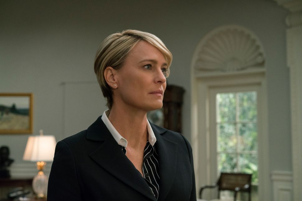 It's Official: 'House of Cards' Will Film Its Final Season With Robin Wright as Lead