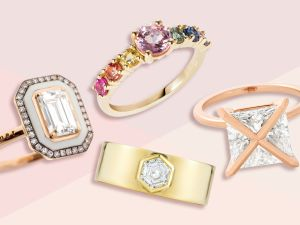 Click through to see the best and most creative engagement rings for your loved one.