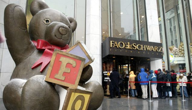 FAO Schwartz at its previous location.