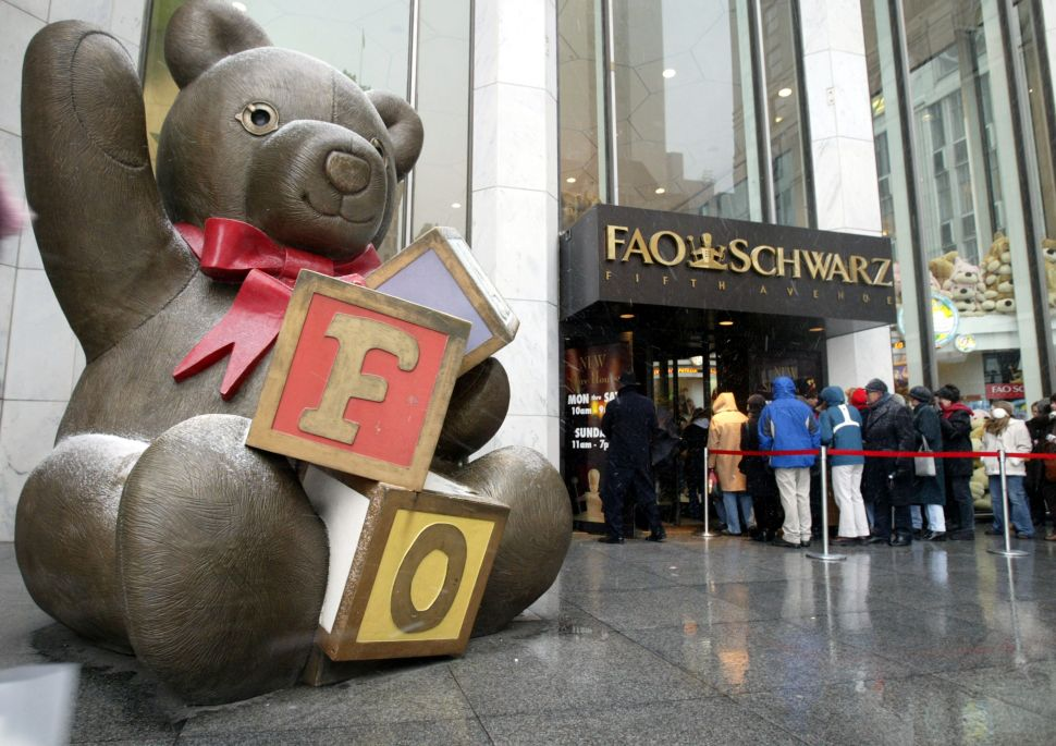 FAO Schwarz Is Making a NYC Comeback in Rockefeller Center