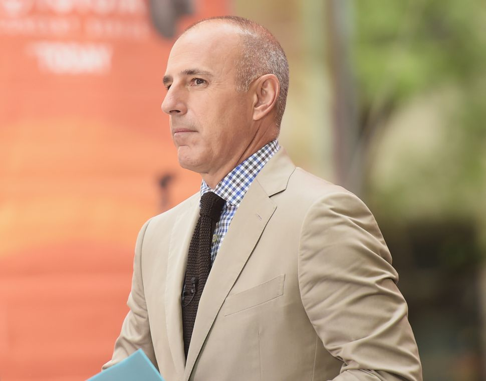 The 'Today' Show's Ratings Actually Rose After Matt Lauer Got Fired