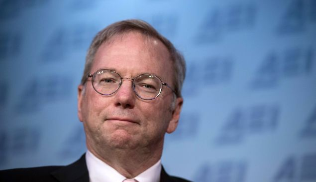 Eric Schmidt will focus on philanthropy and science research through his charity.