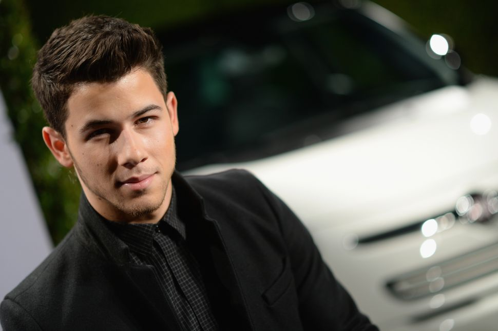 Nick Jonas Is Throwing His Hat Into the Ring for a Major Superhero Role