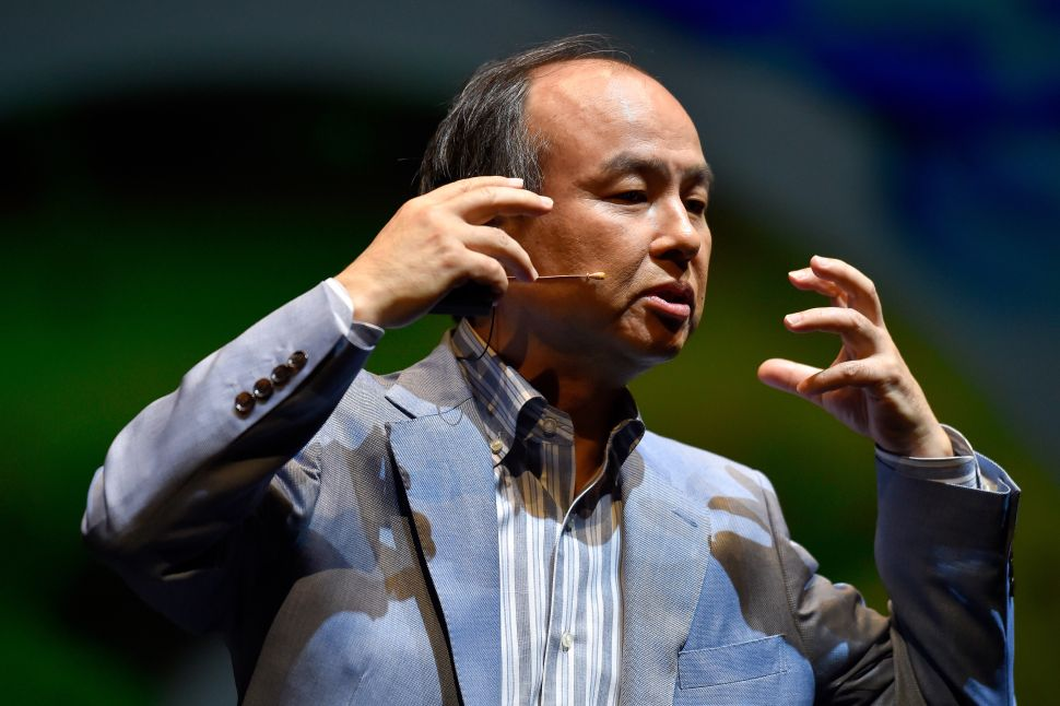 How SoftBank CEO Masayoshi Son Upended Global Tech in 2017