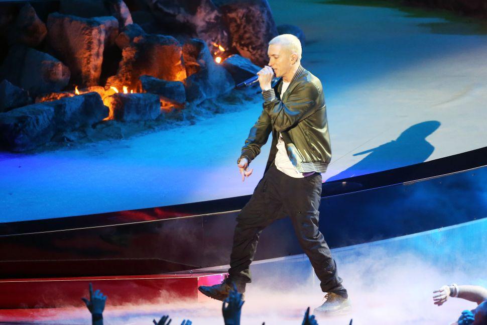 Eminem's New Album Tops the Billboard 200 Chart Amid Donald Trump Attacks