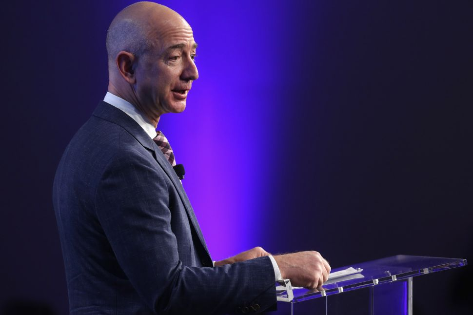 Why Jeff Bezos Barely Made Harvard's 2017 Top 100 CEOs List