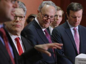 Sens. Al Franken (D-MN), Chuck Schumer (D-NY), and Chris Murphy (D-CT).