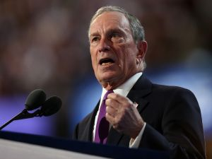 Michael Bloomberg, former three-term New York City mayor and billionaire businessman.