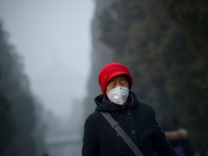 Coal is believed to be the main cause for China's notorious air quality.