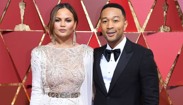 Chrissy Teigen and John Legend must really love the Brewster Carriage House.