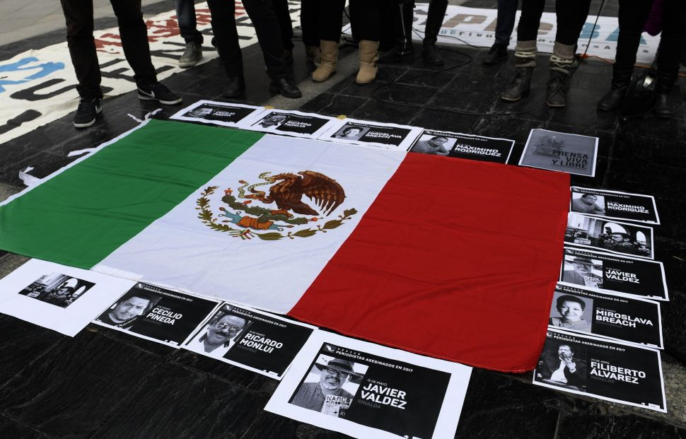 Mexico Proves Most Lethal Non-War State for Journalists in 2017