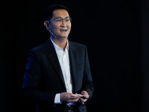 "Huateng ""Pony"" Ma, founder and CEO of Tencent."