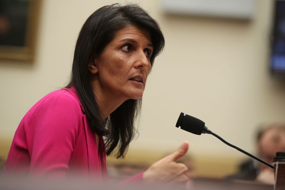 Russian Comedians Troll Nikki Haley Into Commenting on Fictional Country