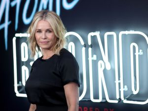 "LOS ANGELES, CA - JULY 24: Comedian Chelsea Handler attends Focus Features' ""Atomic Blonde"" premiere at The Theatre at Ace Hotel on July 24, 2017 in Los Angeles, California. (Photo by Neilson Barnard/Getty Images)"