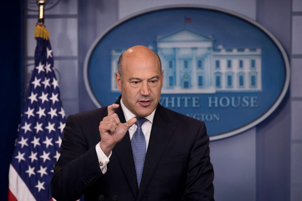 Following Tax Reform Success, Gary Cohn Confirms Loyalty to Donald Trump