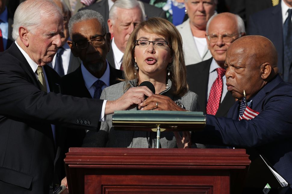 Gabrielle Giffords Targets Republicans With Gun Reform Campaign