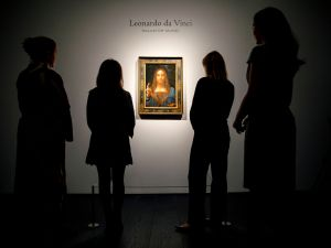Salvator Mundi is the most expensive painting ever traded.