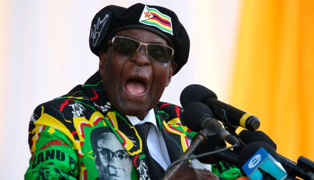 Zimbabwe's former President Robert Mugabe.