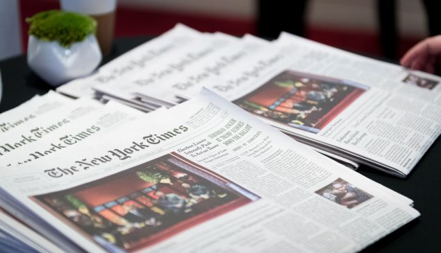 The New York Times is betting that people want to pay for its journalism.