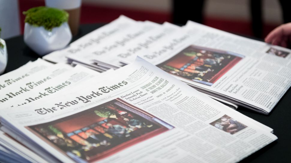 New York Times Cuts Number of Free Articles Per Month in Half