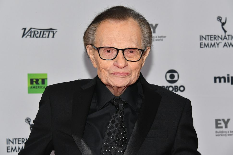 Larry King Denies Sexual Harassment Accusations