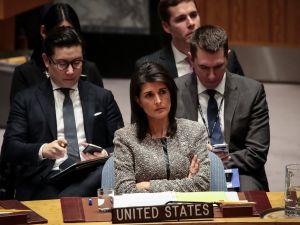 U.S. Ambassador Nikki Haley.