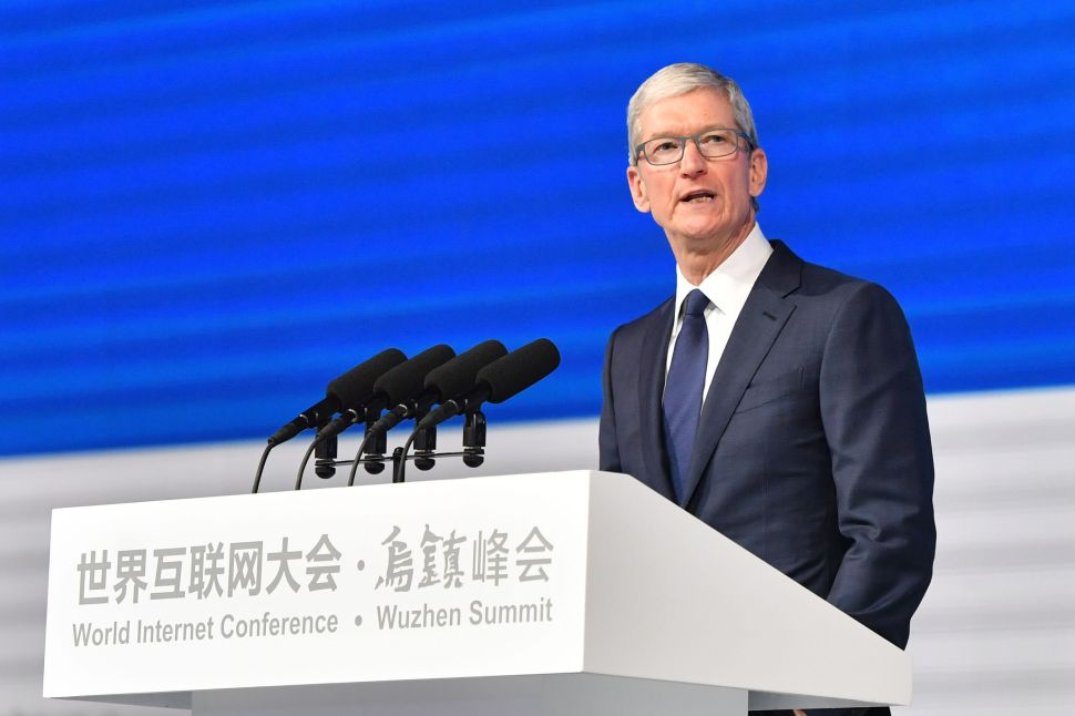 Tim Cook Respects China's Cyber Rules—in Order to Play the Game
