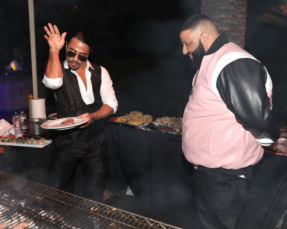 DJ Khaled Celebrated His Birthday With Salt Bae by His Side