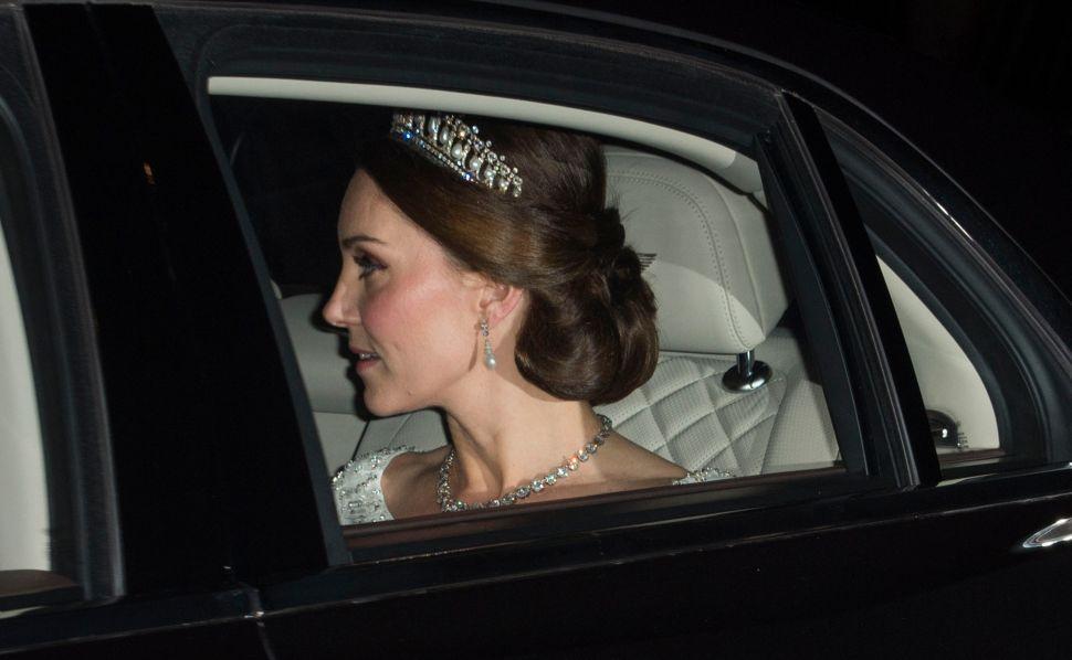Kate Middleton Wore Princess Diana's Favorite Tiara to the Palace's Winter Party