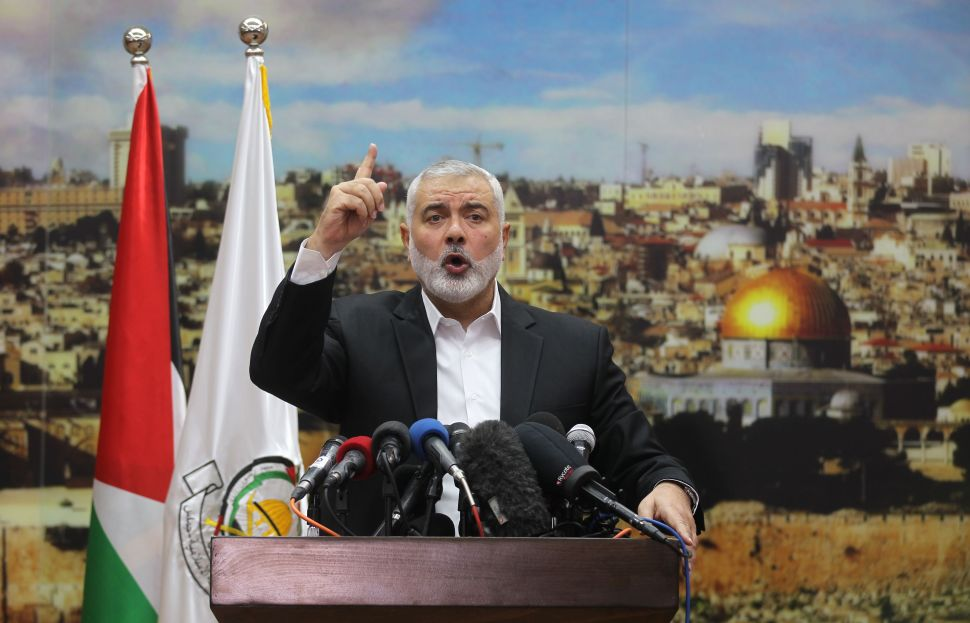 Hamas Mobilizes in the Wake of Trump's Jerusalem Decision