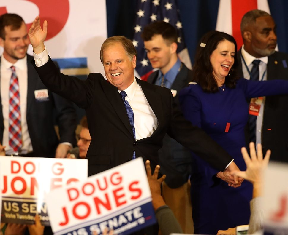 Hollywood Is Really Happy That Doug Jones Beat Roy Moore