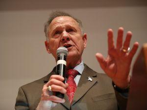 Republican Senatorial candidate Roy Moore.